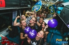 party vlak, novi sad, srbija, fun factory