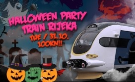 Halloween Party Train