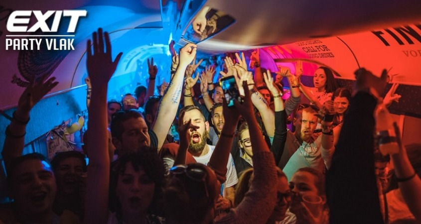 exit party vlak, novi sad, srbija, party vlak, exit 2019, exit tribe